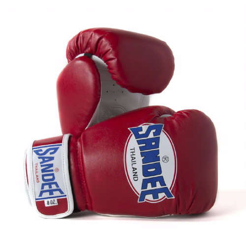 Sandee Kids Authentic Boxing Gloves - Red
